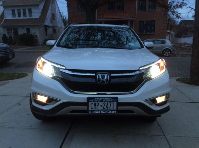 New 2015 Honda Crv With an