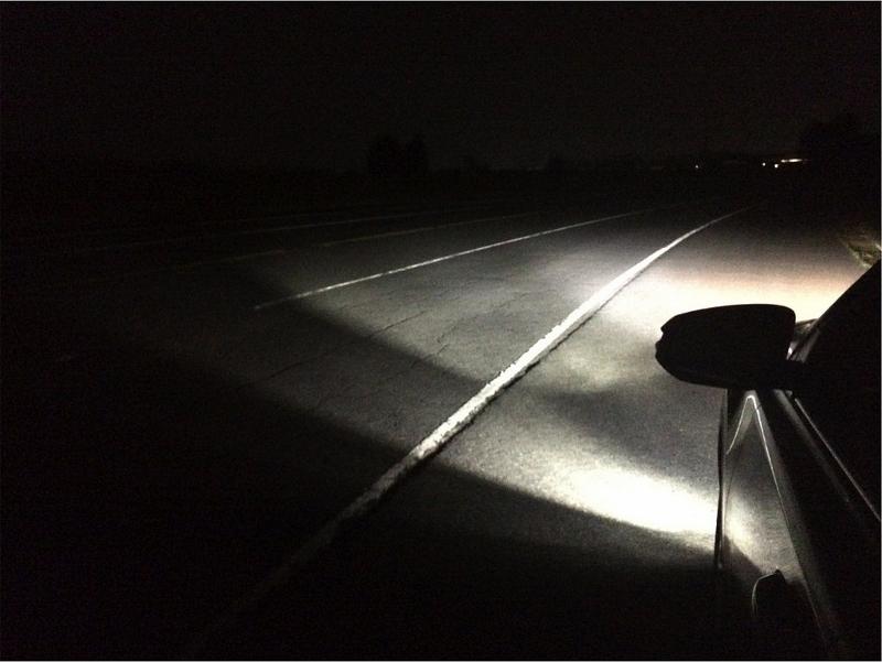 H8/H11/H16 Philips X-treme Ultinon LED Bulbs Vs Halogen Fog