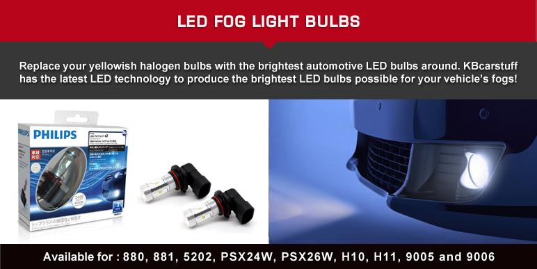 SALE: Savings on LED bulbs, LED Fogs, LED Dome Kits