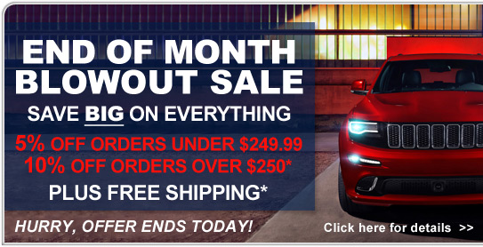 End of Month Blowout Sale - Save Now!