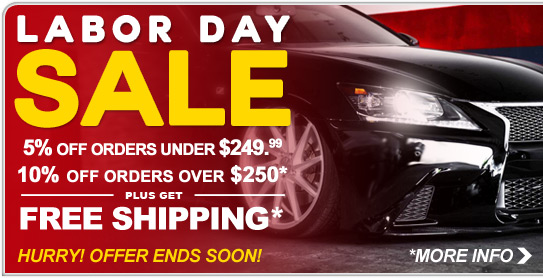Labor Day Sale - Save Now!