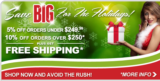 Save BIG for the Holidays! - Save Now