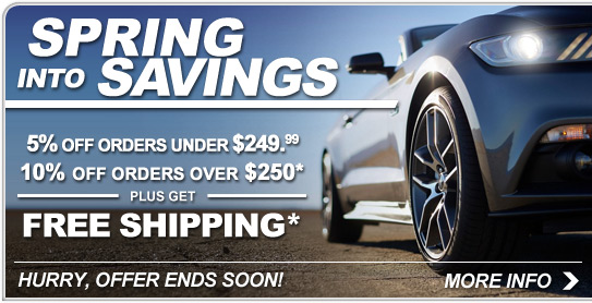 Spring into Savings! - Save Now!