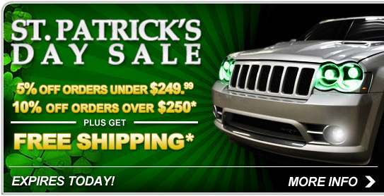 St. Patrick's Day Sale - Save Now