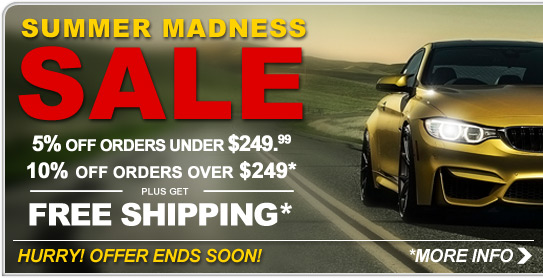 Summer Madness Sale - Save Now!