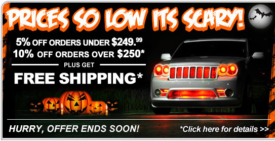 Halloween Sale! - Save Now!