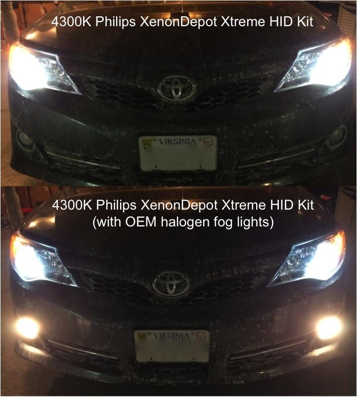 4300k Vs 5000k Hid Color Temperature Comparison Bmw Luxury Touring
