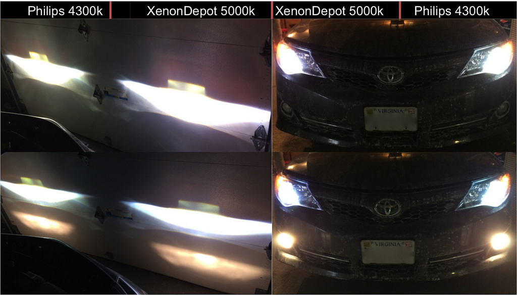 Led Headlights Vs Hid >> 4300K VS 5000K HID Color Temperature Comparison - ClubLexus - Lexus Forum Discussion