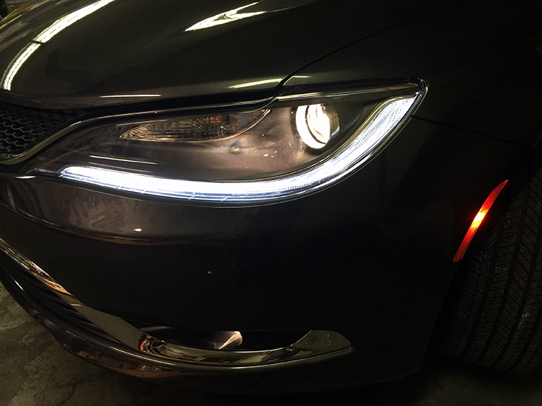 Here Is A Pic Of Both Headlights On The 2016 200 Upgraded To 5000k Take Look At How Nice And White Are Compared Stock Halogen Fog