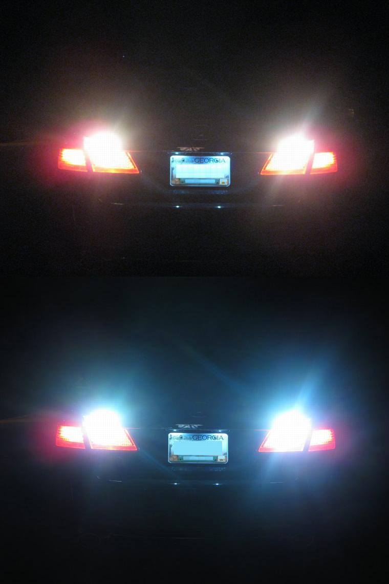 Halogen Light Vs Led >> Philips 7443 921/T16 T10 LED bulb review