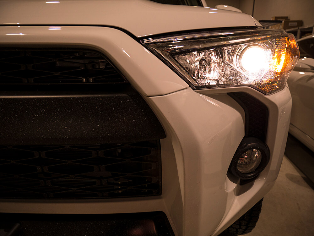 2018 4Runner Pro LED Upgrade | 4runner LED headlight testing